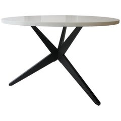 Early Knoll Hans Bellmann Round Popsicle Dining Table