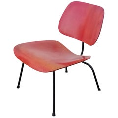 Early LCM Red Aniline Dyed by Charles Eames for Herman Miller
