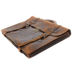 Early Leather Briefcase