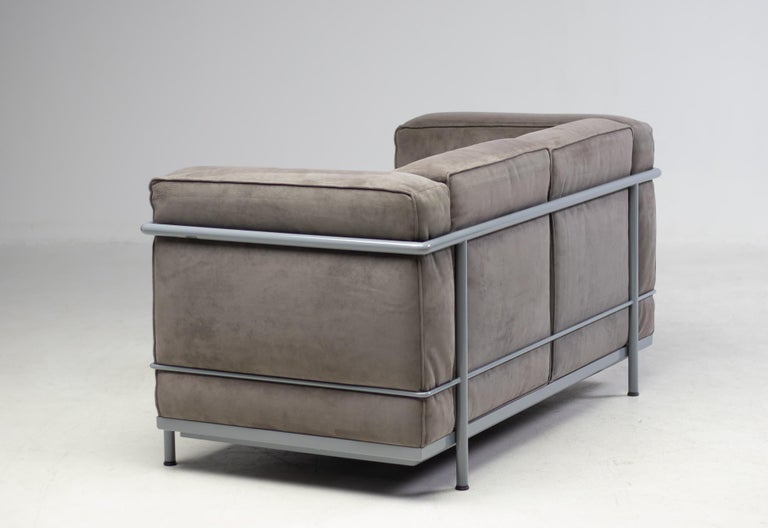 Early Limited Edition Matching Le Corbusier LC3 and LC2 Set by Cassina 2
