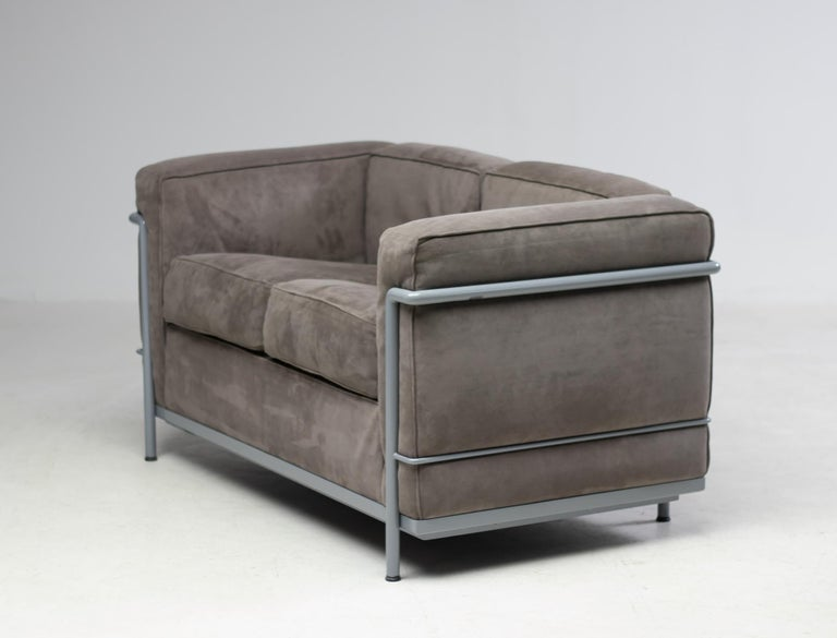 Early Limited Edition Matching Le Corbusier LC3 and LC2 Set by Cassina 3