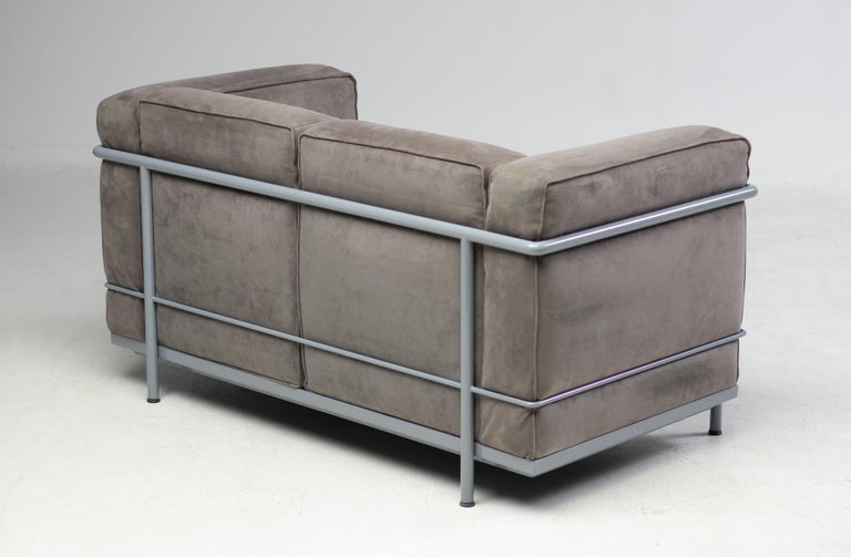 20th Century Early Limited Edition Matching Le Corbusier LC3 and LC2 Set by Cassina