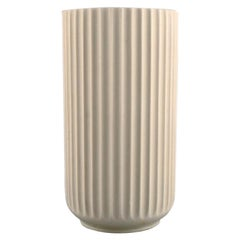 Early Lyngby Porcelain Vase, Dated 1936