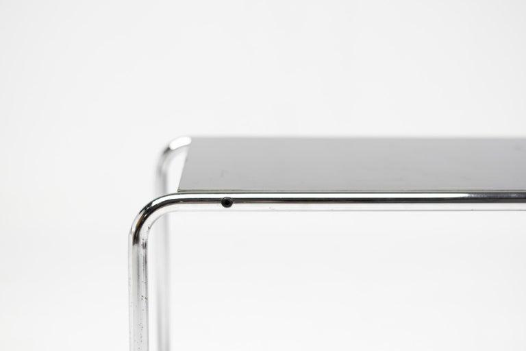 Italian Early Marcel Breuer Side Tables by Gavina, Italy For Sale