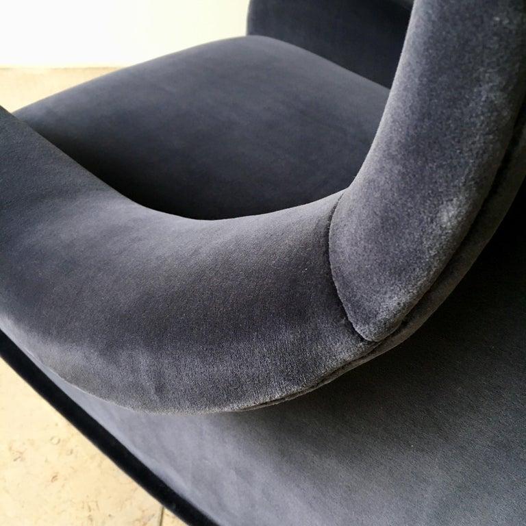 Mid-20th Century Early Marco Zanuso Designed Senior Armchair, circa 1950 For Sale