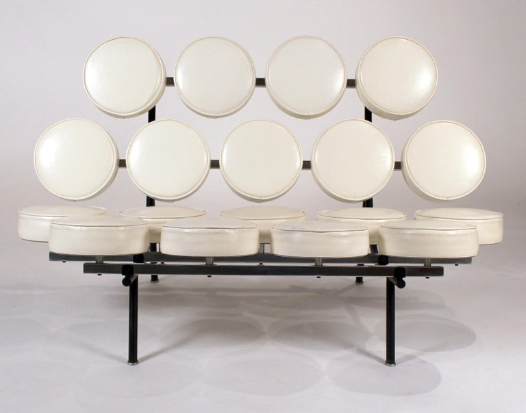 Mid-20th Century Early Marshmallow Sofa by George Nelson for Herman Miller For Sale