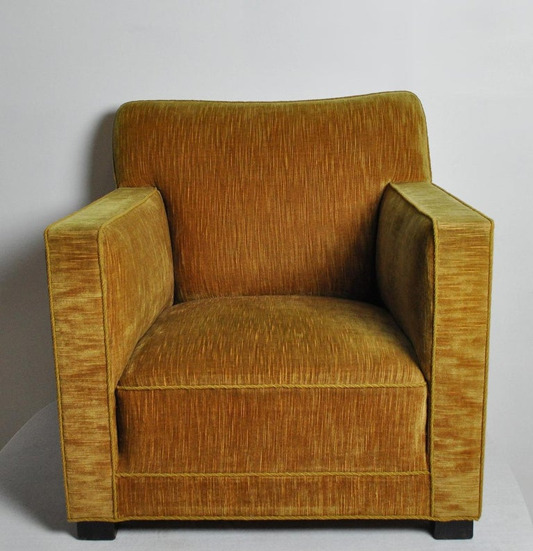 Large lounge or club chair with a