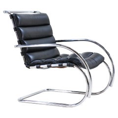 Early Mies van der Rohe MR Lounge Chair for Knoll