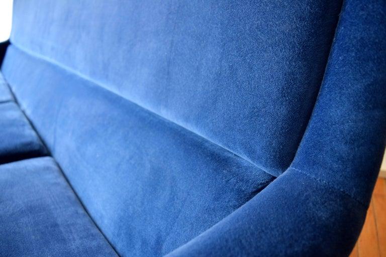 Mid-20th Century Early Milo Baughman Angular Sofa for Thayer Coggin For Sale