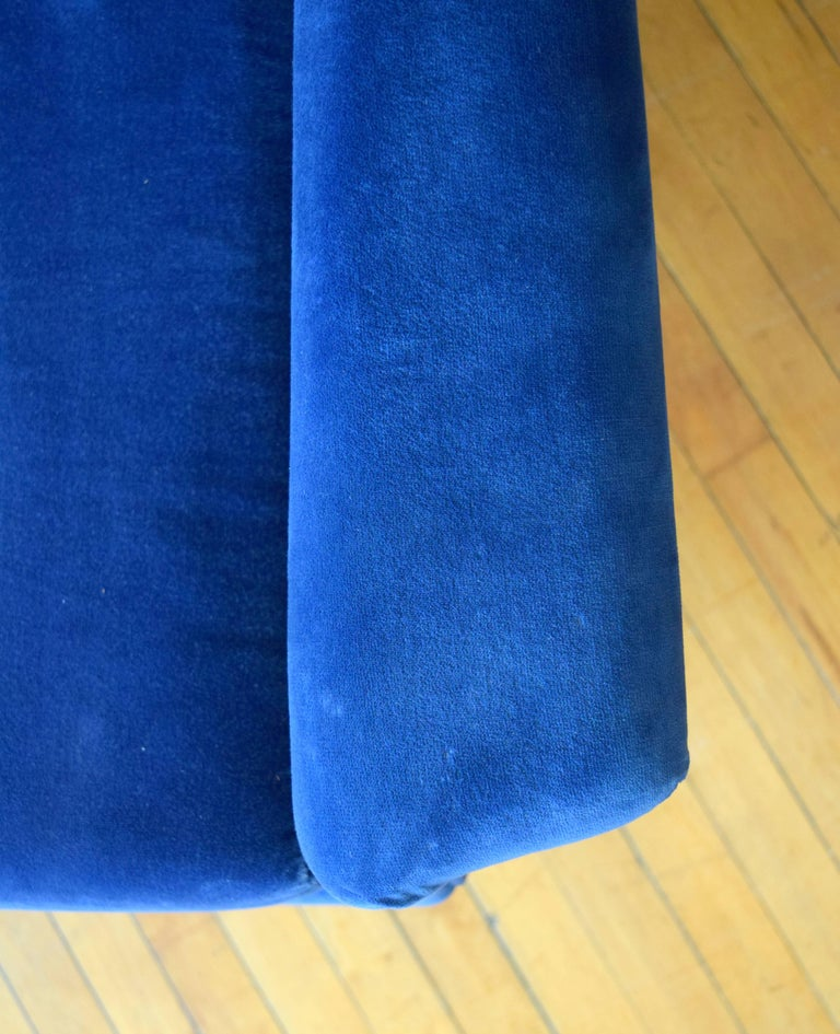 Upholstery Early Milo Baughman Angular Sofa for Thayer Coggin For Sale