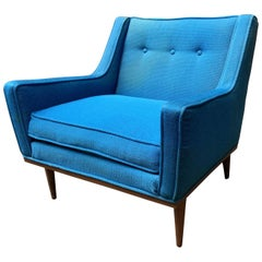 Early Milo Baughman for James Incorporated Upholstered Armchair