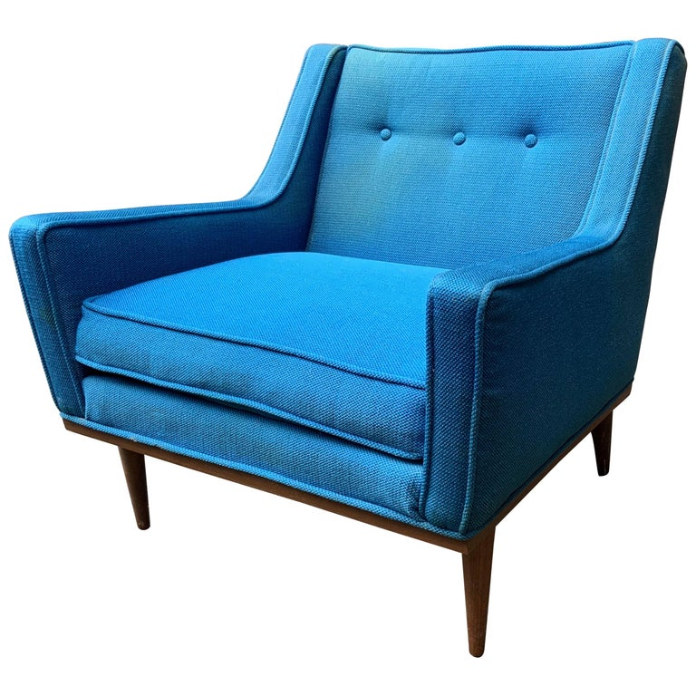 Milo Baughman for James Incorporated Upholstered Armchair For Sale