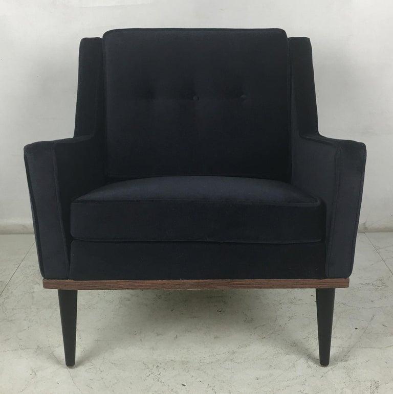 Veneer Early Milo Baughman Lounge Chair for James, Inc. For Sale