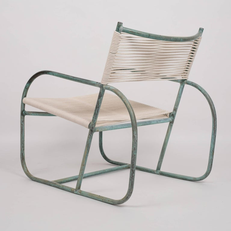 American Early Model Walter Lamb Lounge Chair For Sale