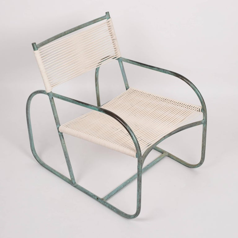 20th Century Early Model Walter Lamb Lounge Chair For Sale