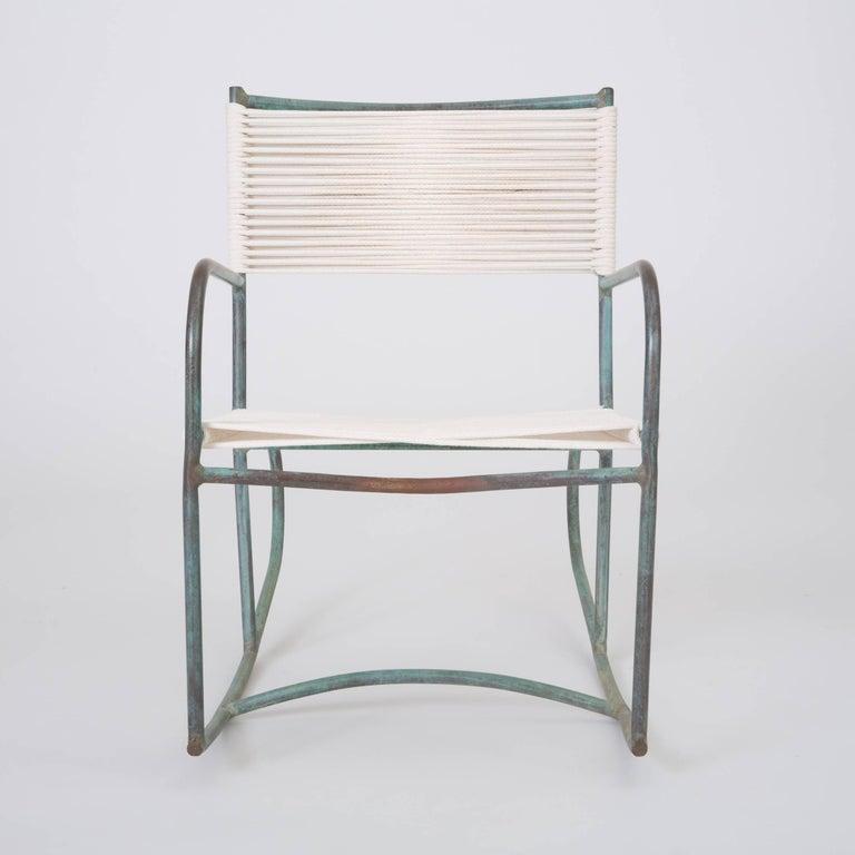 Cool Early Model Walter Lamb Patio Rocking Chair Inzonedesignstudio Interior Chair Design Inzonedesignstudiocom