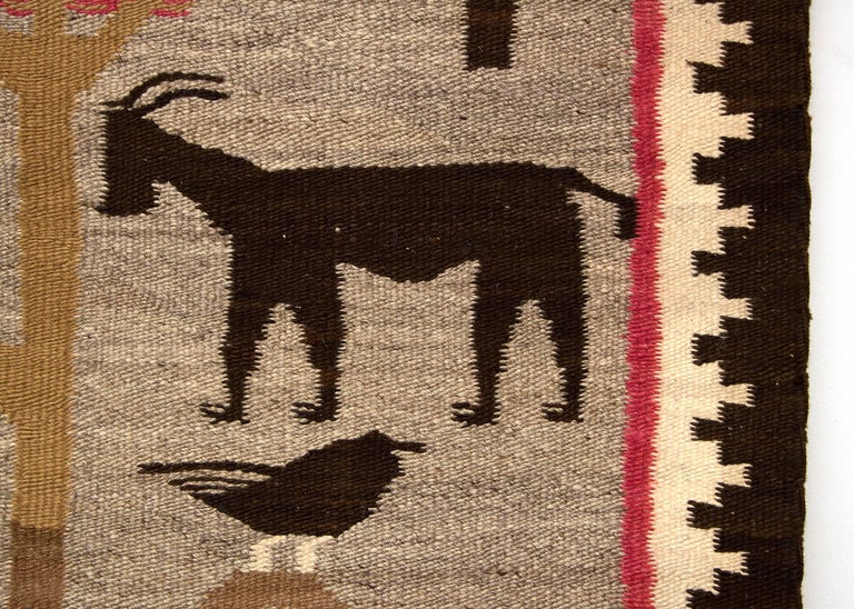 19th Century Early Navajo Pictorial Weaving,
