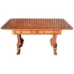 Early 19th Century Sofa Table Made from Elm