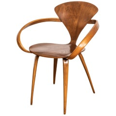 Early Norman Cherner Pretzel Chair for Plycraft, USA