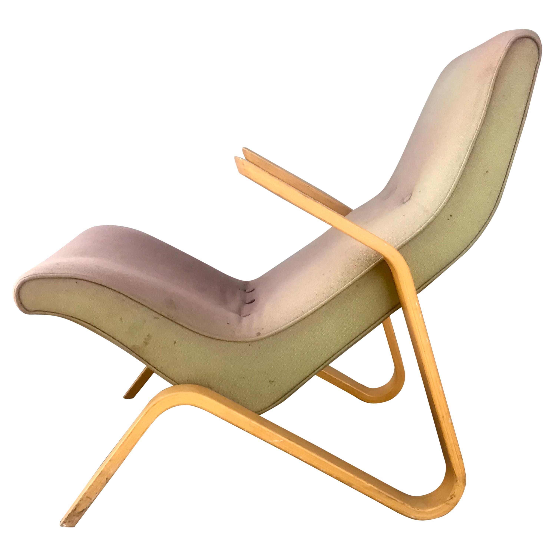 Early Original Eero Saarinen Grasshopper Chair for Knoll, circa 1946
