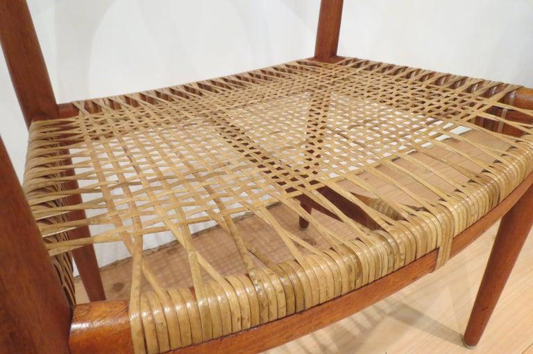 Danish Early Original JH501 Chair by Hans J Wegner for Johannes Hansen in Teak, 1950 For Sale