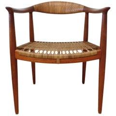 Early Original JH501 Chair by Hans J Wegner for Johannes Hansen in Teak, 1950