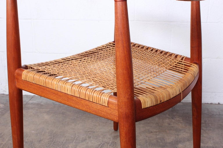 Early Original Round Chair by Hans Wegner For Sale 6
