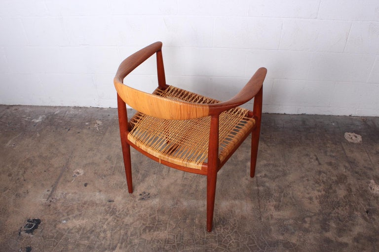 Early Original Round Chair by Hans Wegner For Sale 8