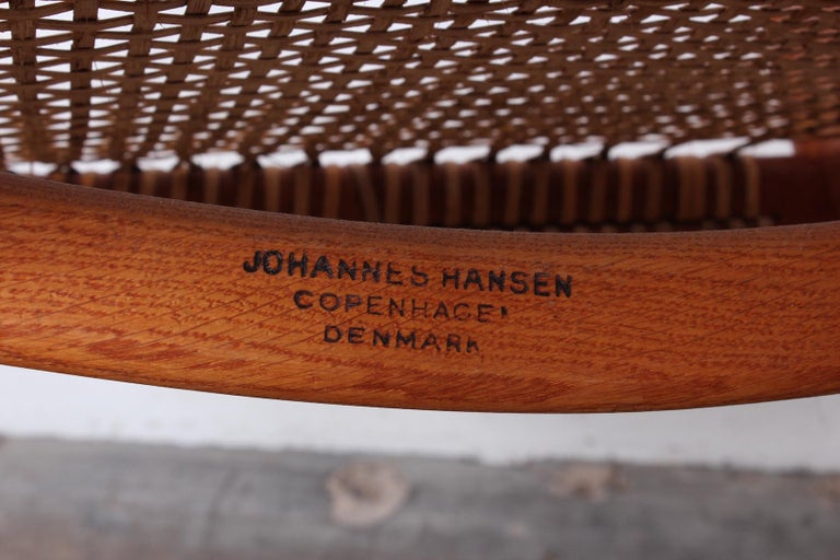 Early Original Round Chair by Hans Wegner For Sale 9