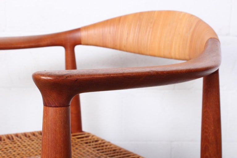 Early Original Round Chair by Hans Wegner For Sale 10