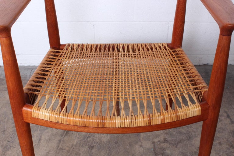 Early Original Round Chair by Hans Wegner For Sale 2