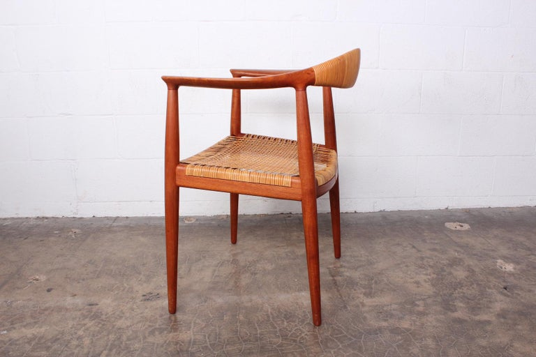 Early Original Round Chair by Hans Wegner For Sale 4