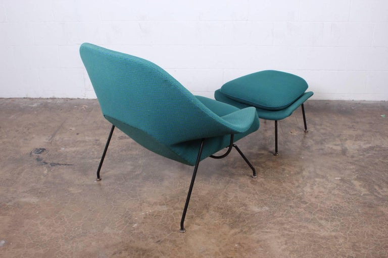 Early Original Womb Chair and Ottoman by Eero Saarinen For Sale 8