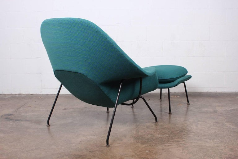 Early Original Womb Chair and Ottoman by Eero Saarinen For Sale 9