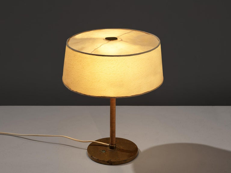 Iron Early Paavo Tynell for Taito Table Lamp For Sale