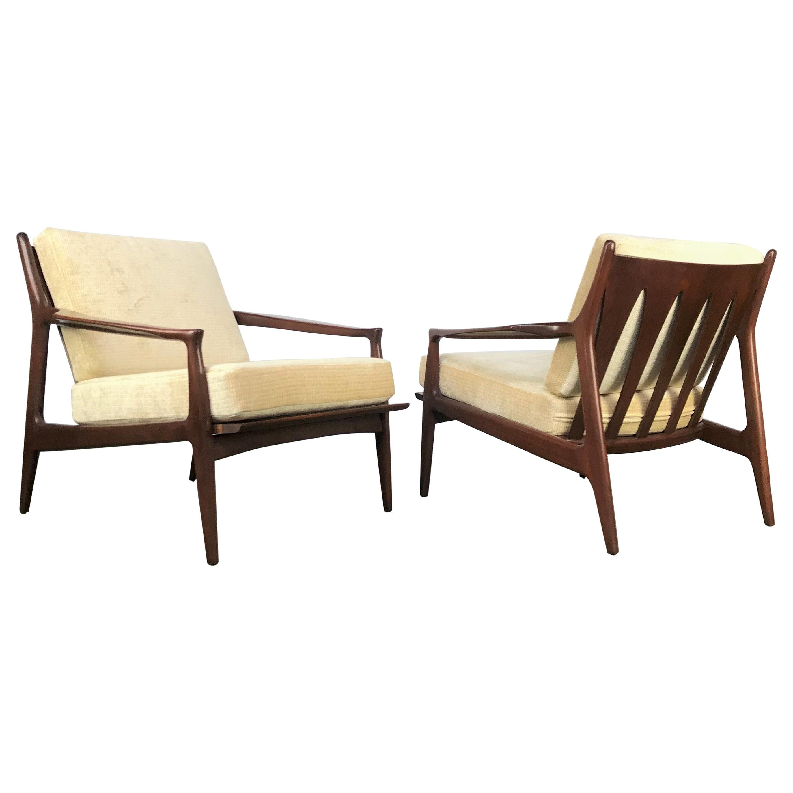 Archie Lounge Chair and Ottoman