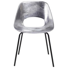 Early Pierre Guariche Aluminium Tulip Chair For Steiner, France, 1950