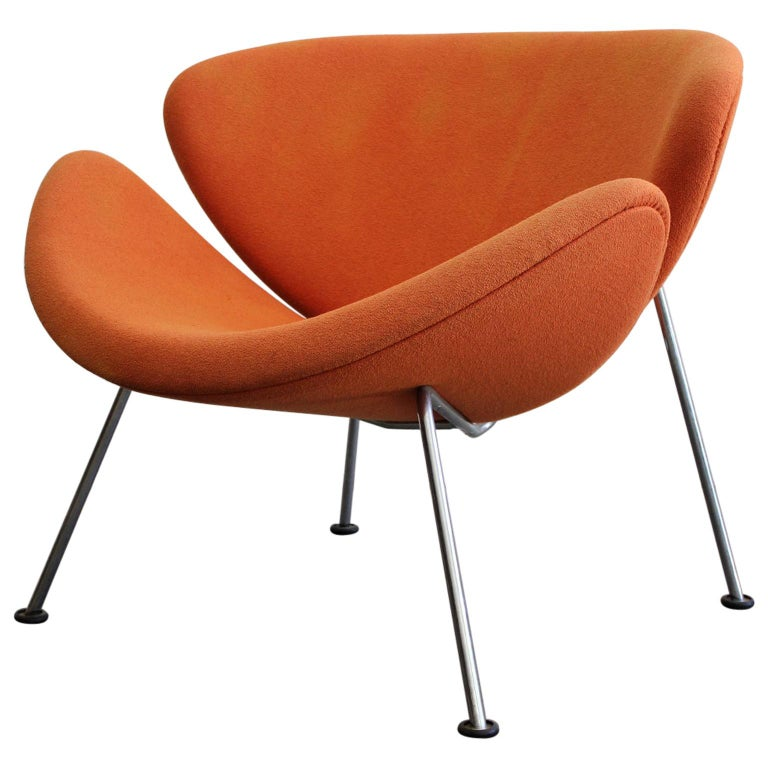 "Early Pierre Paulin First Edition ""Orange Slice"" Chair for Artifort For Sale"