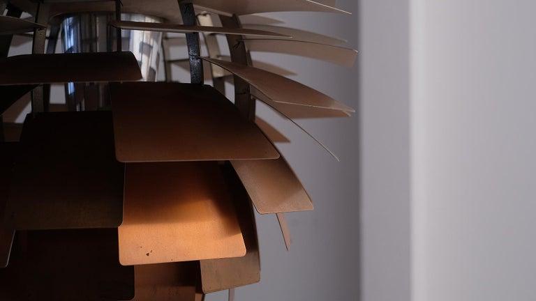 Scandinavian Modern Early Poul Henningsen Artichoke Light For Sale