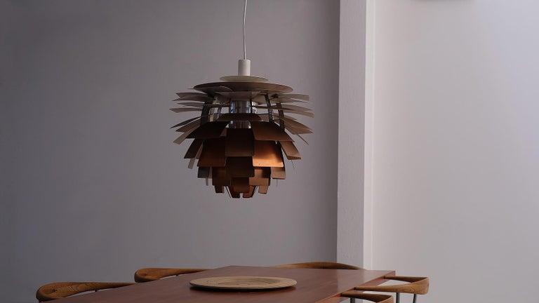 20th Century Early Poul Henningsen Artichoke Light For Sale