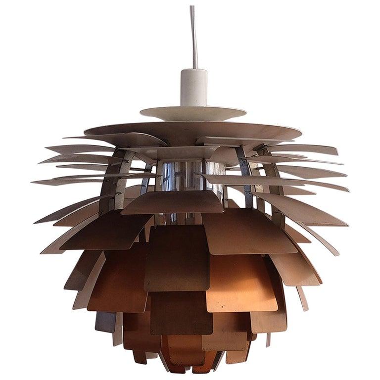 Early Poul Henningsen Artichoke Light For Sale