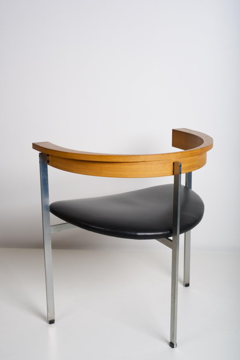Laminated Early Poul Kjaerholm for E. Kold Christensen Chair, PK 11, circa 1957 For Sale