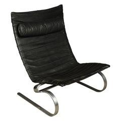 Early Poul Kjærholm PK20 Lounge Chair, Denmark, Circa 1960