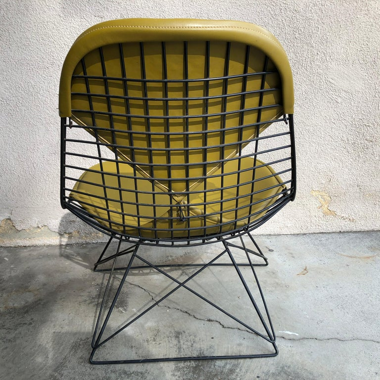 Early Production Eames LKR Wire Chair For Sale 4