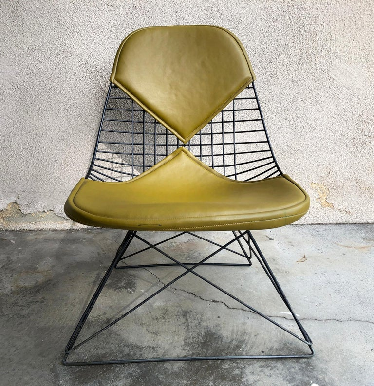Early Production Eames LKR Wire Chair For Sale 5