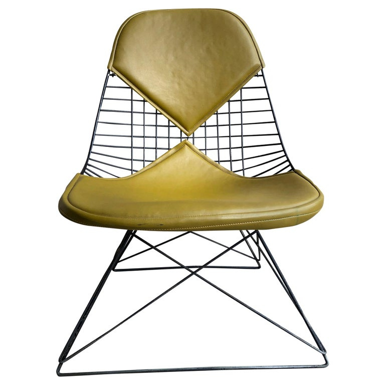 Early Production Eames LKR Wire Chair For Sale