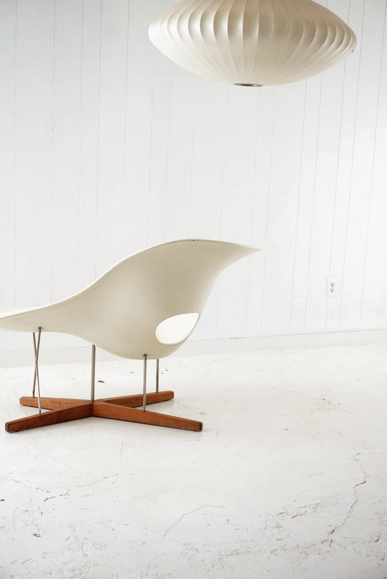 Late 20th Century Early Production 'La Chaise' by Charles and Ray Eames for Vitra, circa 1996 For Sale