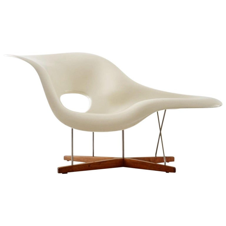 Early Production 'La Chaise' by Charles and Ray Eames for Vitra, circa 1996 For Sale