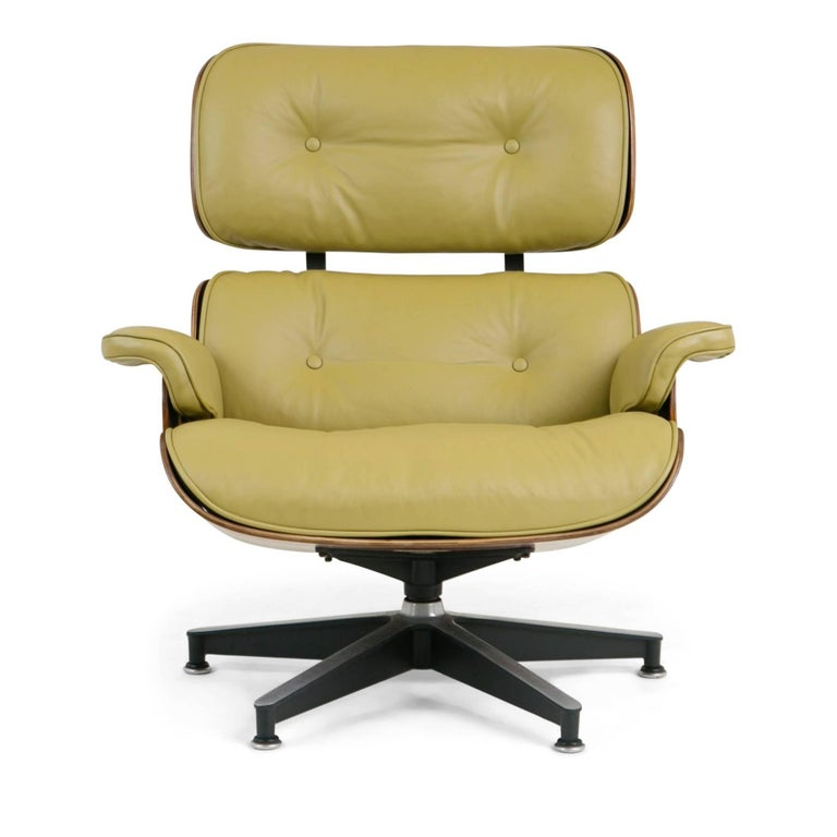 Mid-Century Modern Early Production Model 670/671 Lounge Chair & Ottoman by Charles & Ray Eames For Sale