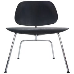 "Early Production Ray & Charles Eames for Herman Miller Black ""LCM"" Lounge Chair"